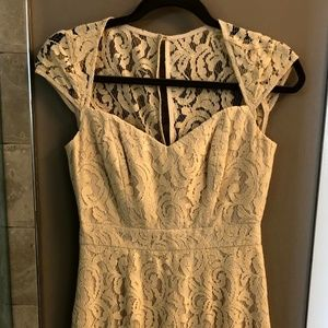 J Crew Cream Lace Dress